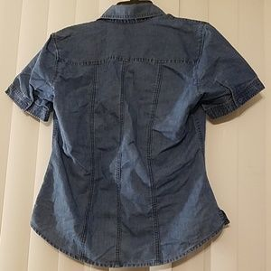 Riders by Lee Tops - Denim Button Down